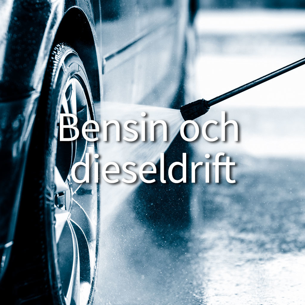 Bensin och dieseldrift