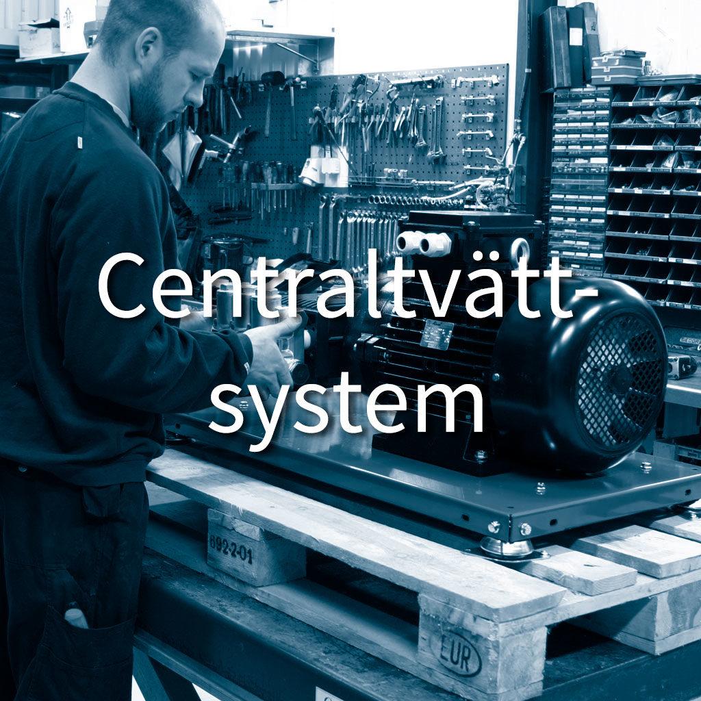Centraltvättsystem
