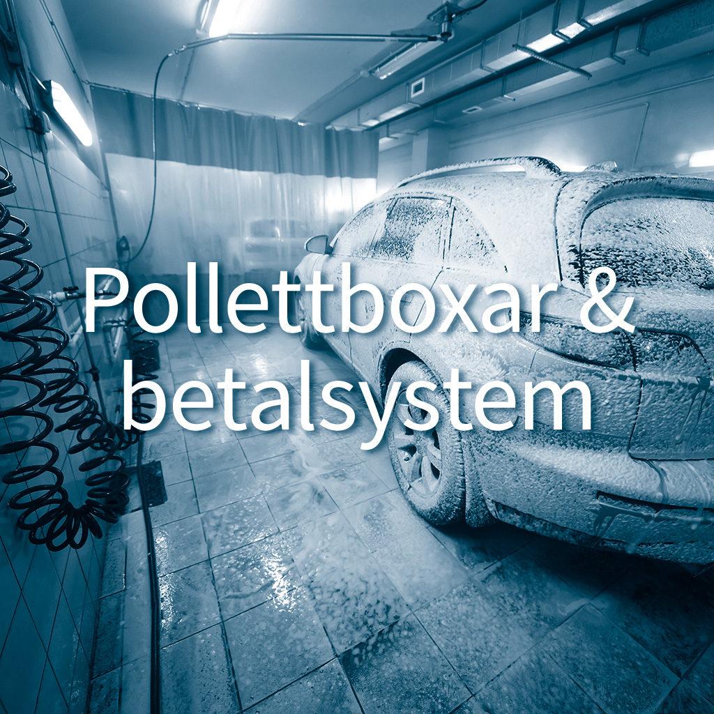 Pollettboxar och betalsystem